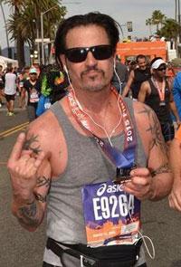 LA Marathon finish!